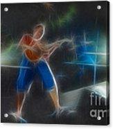 Vh-eddie-balance-gd2-fractal Acrylic Print