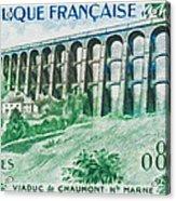 Viaduct Chaumont Haute-marne Acrylic Print