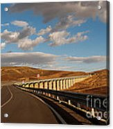 Viaduct In The Sicilian Countryside Acrylic Print
