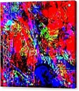 Vibrance Personified Into A Physical Object Acrylic Print