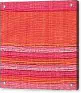 Vibrant Cloth Acrylic Print