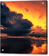 Vibrant Dawn Acrylic Print by Mark Leader