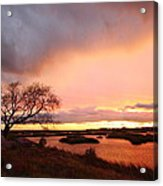 Storm At Dusk 2am-108350 Acrylic Print