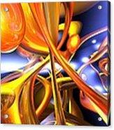 Vibrant Love Abstract Acrylic Print