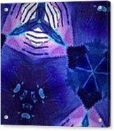 Vibrant Shades Of Blue 3 Acrylic Print