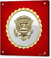 Vice Presidential Service Badge Acrylic Print