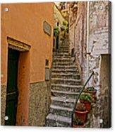 Vicolo Della Valle Riomaggiore Italy Dsc02537  Acrylic Print