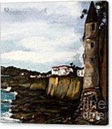Victoria Beach Laguna Beach Acrylic Print