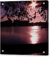Victoria British Columbia Sunset Acrylic Print