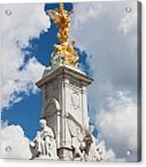 Victoria Memorial Next To Buckingham Palace London Uk Acrylic Print