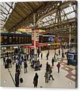 Victoria Railway Station London  Acrylic Print