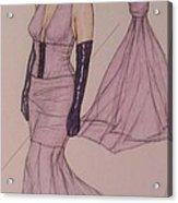 Victoria Renee's Fashions Acrylic Print by Vicki  Jones