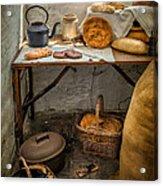 Victorian Bakers Acrylic Print