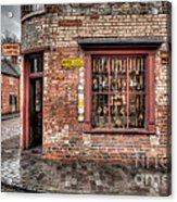 Victorian Corner Shop Acrylic Print by Adrian Evans