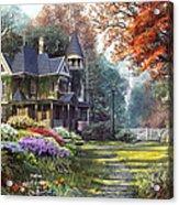 Victorian Garden Acrylic Print