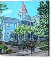 Victorian Greenville Acrylic Print