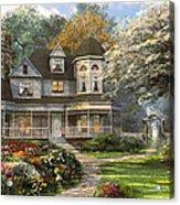 Victorian Home Acrylic Print