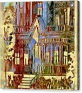 Victorian Home Dream Acrylic Print