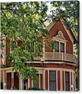 Victorian Home Of Georgetown Texas Acrylic Print
