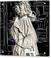Victorian Lady Acrylic Print by John Haldane