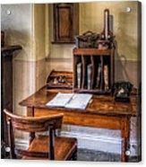 Victorian Medical Office Acrylic Print