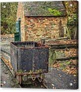 Victorian Mining Cart Acrylic Print