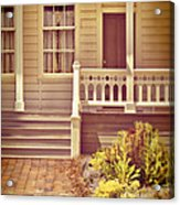 Victorian Porch Acrylic Print