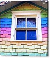 Victorian Rainbow Acrylic Print
