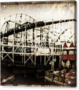 Victorian Roller Coaster Acrylic Print