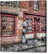 Victorian Stores England Acrylic Print by Adrian Evans