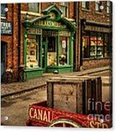 Victorian Town Acrylic Print
