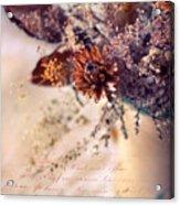 Victorian Treatment Acrylic Print