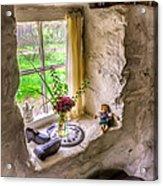 Victorian Window Acrylic Print by Adrian Evans