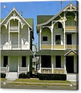 Victorians At Ocean Grove New Jersey Acrylic Print