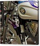 Victory Motorcycle Engine Acrylic Print