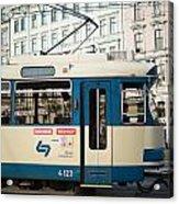 Vienna Tram Acrylic Print