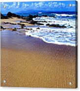 Vieques Beach Acrylic Print by Thomas R Fletcher