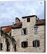 Vies Of Split Croatia Acrylic Print
