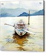 Vietnam Boat Acrylic Print