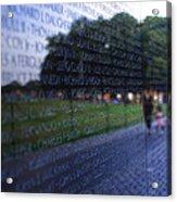 Vietnam War Memorial Acrylic Print