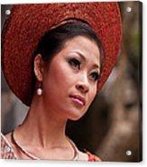 Vietnamese Bride 09 Acrylic Print
