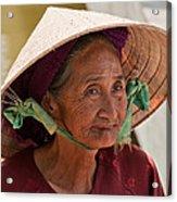Vietnamese Lady Acrylic Print
