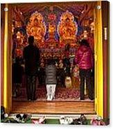 Vietnamese Temple Shrine Prayer Acrylic Print