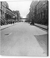 View East On 78th Street Acrylic Print