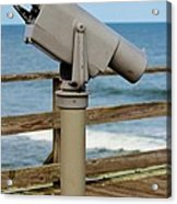 View Finder At The Beach Acrylic Print