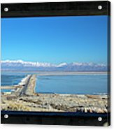 View From Antelope Island Acrylic Print