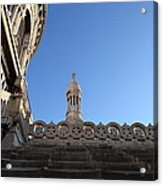 View From Basilica Of The Sacred Heart Of Paris - Sacre Coeur - Paris France - 01134 Acrylic Print
