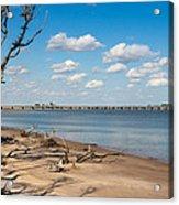 View From Big Talbot Island Beach Acrylic Print