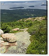 View From Cadillac Mountain - Acadia Park Acrylic Print