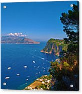 View From Capri Acrylic Print